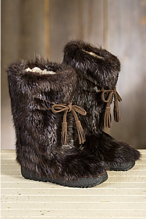 Men's Maiers Shearling-Lined Beaver Fur Boots | Overland