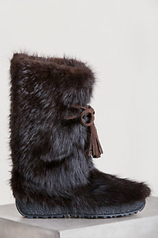 Men's Maiers Shearling-Lined Beaver Fur Boots