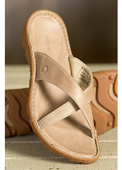 Women's Bogs Todos Leather Slide Sandals