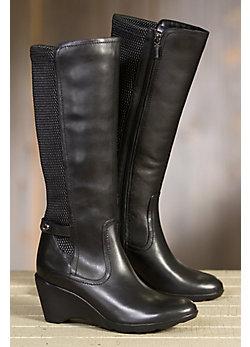 Women's Blondo Lauren Fleece-Lined Leather Boots