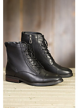 Men's Blondo Gregory Shearling-Lined Waterproof Leather Boots