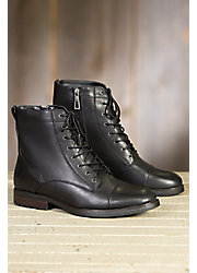 Men's Blondo Gregory Shearling-Lined Leather Boots