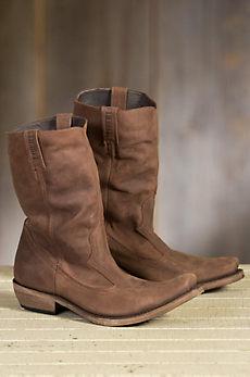 Men's Liberty Black Toscano Leather Boots