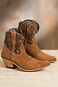 Women's Liberty Black Short Suede Boots