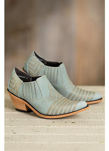 Women's Liberty Black Vegas Ciel Leather Ankle Boots