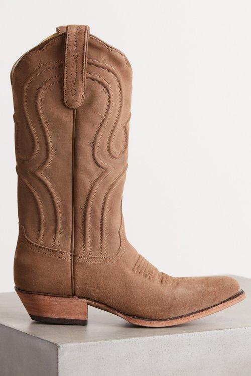 5a35d935645 Women s Liberty Black Suede Cowboy Boots