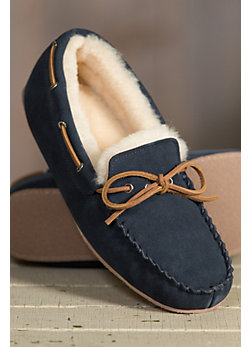 Men's Overland Oliver Sheepskin Moccasin Slippers