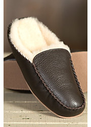 Men's Overland Bruno Sheepskin Mule Slippers
