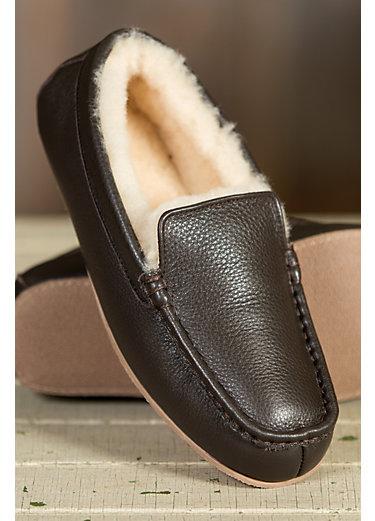 Men's Overland Grayson Sheepskin Moccasin Slippers