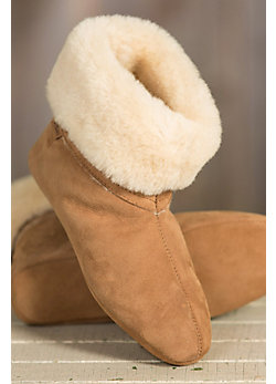 Men's Overland Liam High-Top Sheepskin Slippers