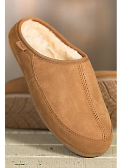 Men's Overland Connor Sheepskin Mule Slippers