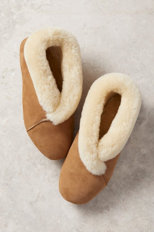 Women's Sophia Soft-Sole Sheepskin Slippers