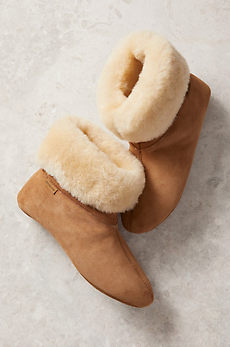 Women's Overland Lily High-Top Sheepskin Slippers