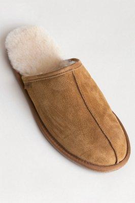 Men's Classic Sheepskin Scuff Slippers