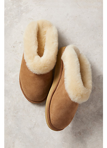 Women's Overland Alyssa Australian Merino Sheepskin Slippers with Arch Support