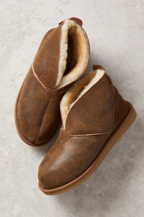 Men's Gunner Australian Merino Sheepskin Slippers