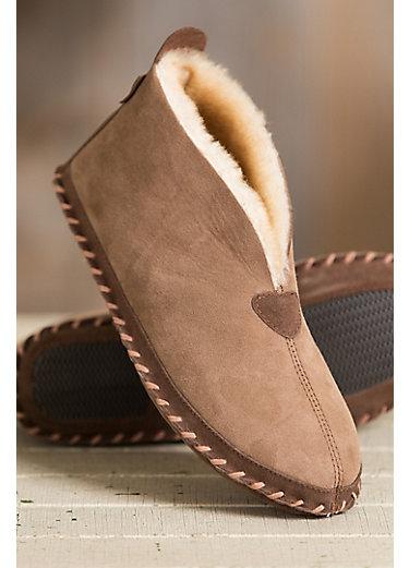Men's Overland Leon Australian Merino Sheepskin Slippers