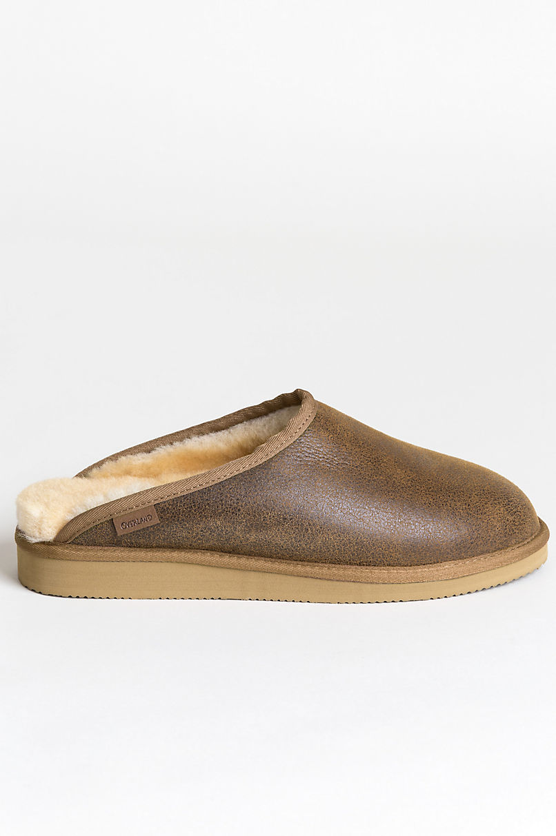 9a0933701f1 Men s Clyde Australian Merino Sheepskin Scuff Mule Slippers with ...