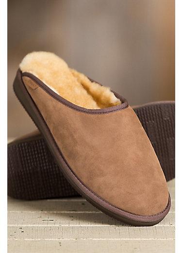 Men's Overland Clyde Clog Australian Merino Sheepskin Mule Slippers