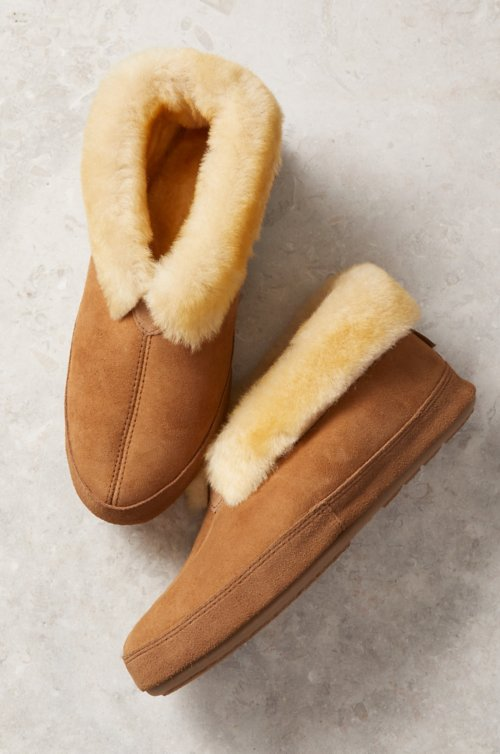 Men's Ethan Classic Australian Merino Sheepskin Wide Slippers
