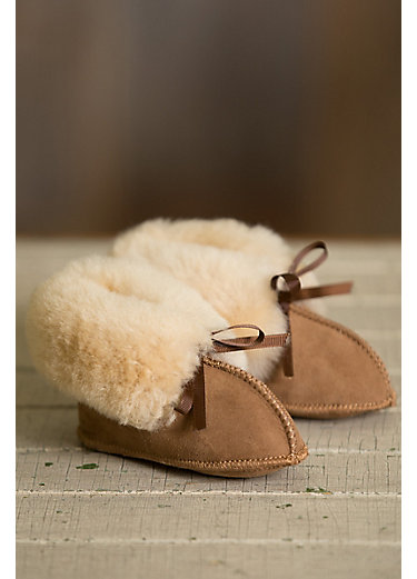 Australian Sheepskin Baby Slipper Booties