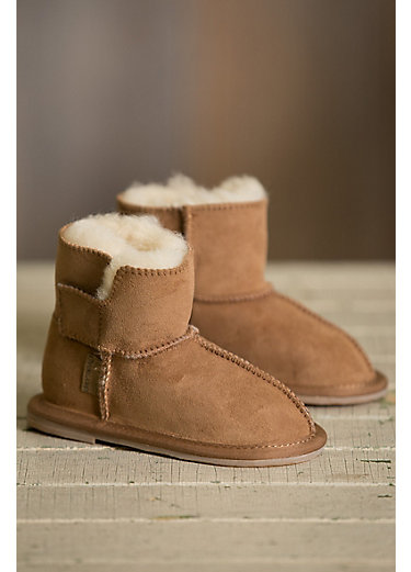 Infant & Toddler Australian Sheepskin Slipper Booties