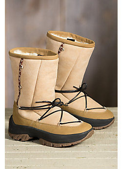 Women's Ulu Crow Shearling Boots