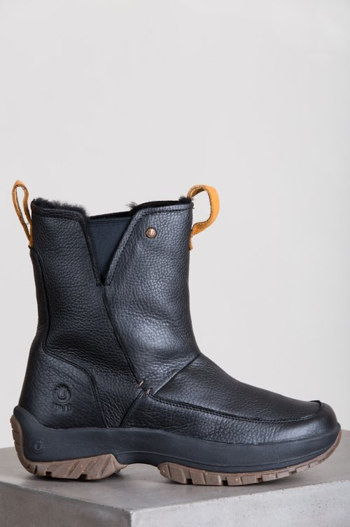 Men's Ulu Tupik Shearling-Lined American Bison Leather Boots