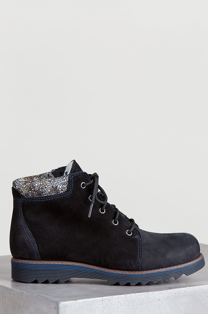 Women's Aline Wool-Lined Waterproof Italian Leather Boots