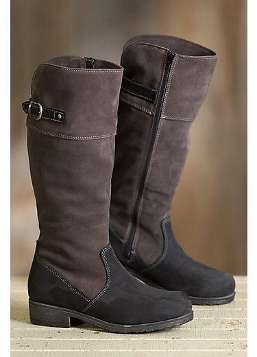 Women's Macy Wool-Lined Waterproof Italian Leather Boots