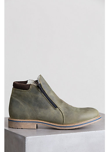 Men's Francois Wool-Lined Waterproof Chilean Leather Boots