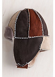 Children's Sheepskin Trapper Hat