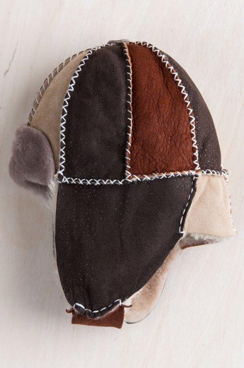 Children's Sheepskin Trapper Hat