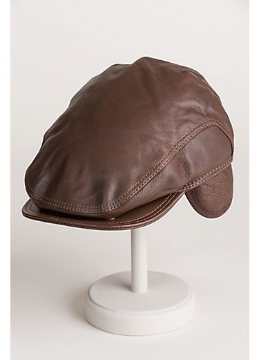 Allen Leather Ivy Cap