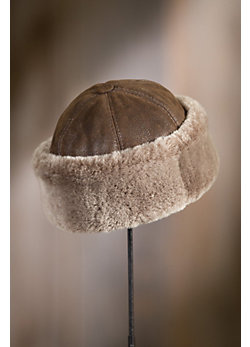 Thunder Bay Shearling Sheepskin Cossack Hat