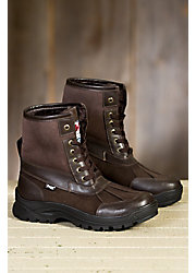 Men's Pajar Clermont Gripper Shearling-Lined Waterproof Leather Boots