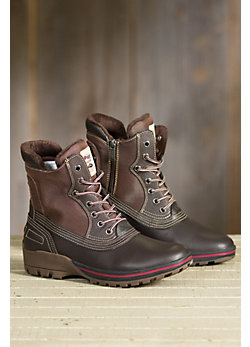 Men's Pajar Baird Fleece-Lined Waterproof Leather Boots