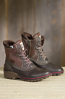 Men's Pajar Baird Fleece-Lined Waterproof Leather Boots