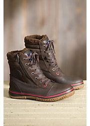 Men's Pajar Trooper Fleece-Lined Waterproof Leather Boots