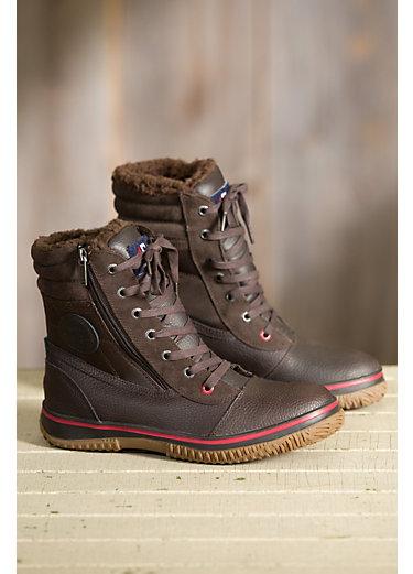 Men's Pajar Trooper Fleece-Lined Waterproof Leather Boots