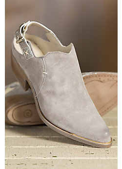 Women's Overland Dorina Suede Leather Slingback Boots