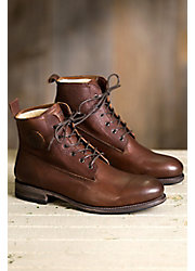 Men's Blackstone GM10 Shearling-Lined Leather Boots