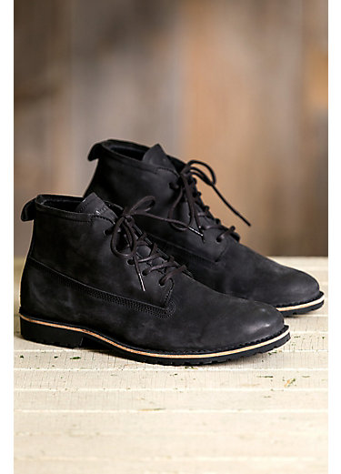 Men's Blackstone KM11 Shearling-Lined Suede Boots