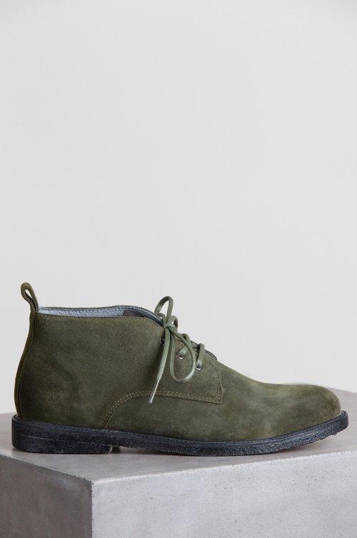 Men's Blackstone QM82 Suede Chukka Boots