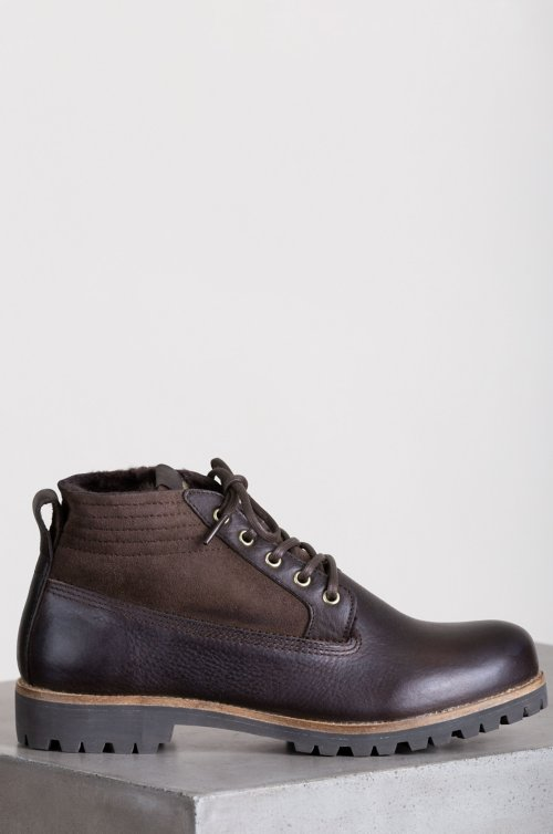 Women's Blackstone QL54 Shearling-Lined Leather Boots