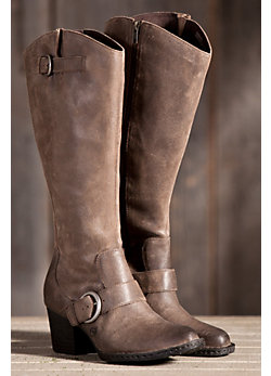 Women's Born Shaylee Tall Distressed Leather Boots