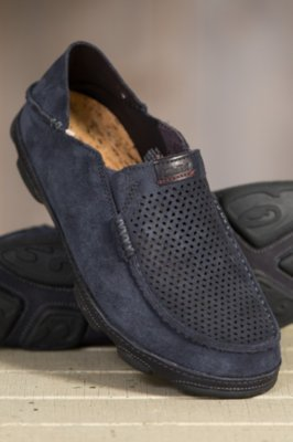 Men's Olukai Moloa Kohana Suede Shoes
