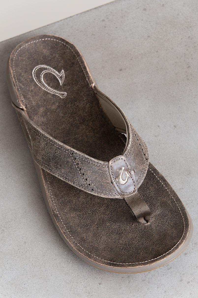 62dd2d4d49b8 Men s OluKai Nui Leather Sandals