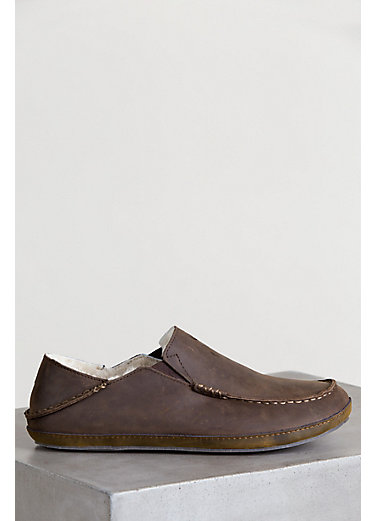 Men's OluKai Moloa Sheepskin Slippers