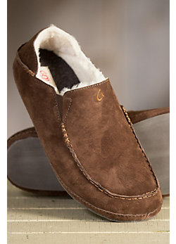 Men's Olukai Moala Sheepskin Slippers